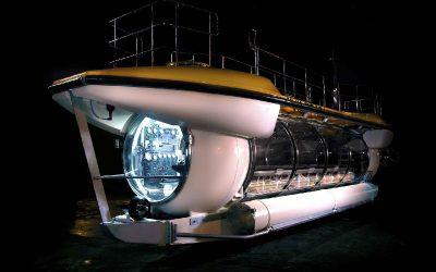 Triton DeepView 24: presentan un submarino eléctrico turístico