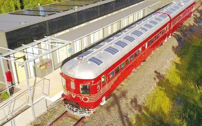 Estos son los primeros resultados del tren eléctrico alimentado con energía solar que unirá a Jujuy