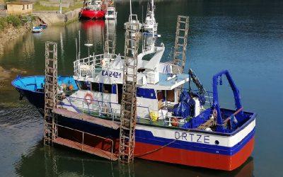 Supera pruebas en mar el barco pesquero híbrido de España