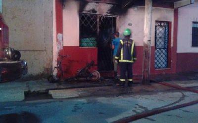 La peor señal para la industria: Conexión irregular de una moto eléctrica generó incendio en Cuba