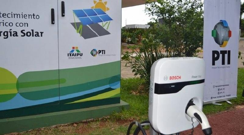 Habilitan cuatro estaciones de carga del Parque Tecnológico Itaipú
