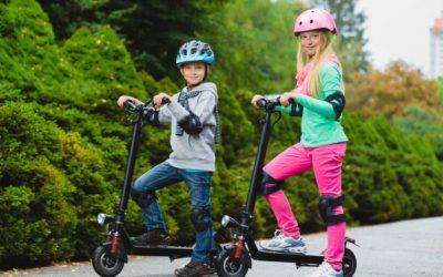 Aumentan ventas de monopatines eléctricos para niños: como hacer un juego sin que sea peligroso