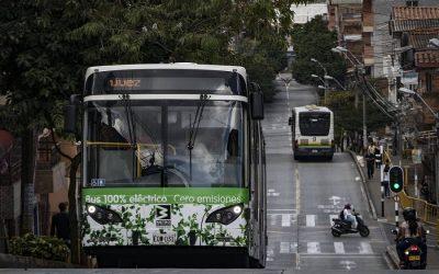 Energía Vectorial propone convertir los buses en eléctricos e inicia acuerdos con empresas de Medellín