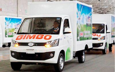 Bimbo adquiere 4000 vehículos eléctricos en México y piensa replicar a la región para su flota de reparto