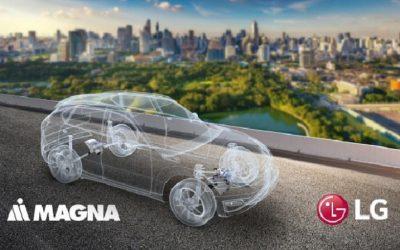 Alianza entre LG y Magna para fabricar componentes para vehículos eléctricos