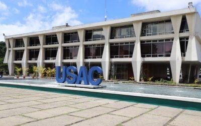 Universidad de San Carlos de Guatemala presentó buses eléctricos para transporte de estudiantes