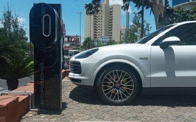 Diesa instala cargadores eléctricos Porsche en puntos estratégicos de Paraguay