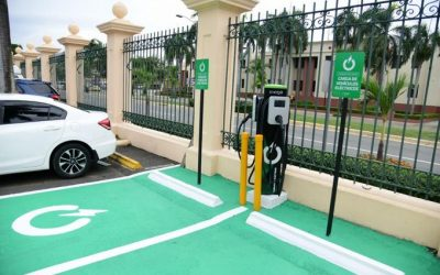 Medidas concretas: Gobierno instala cargadores para vehículos eléctricos en República Dominicana