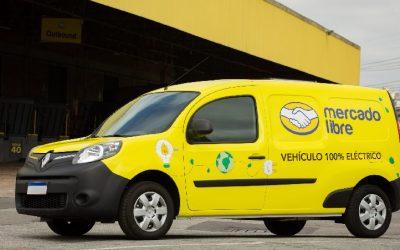 Mercado Libre consiguió financiamiento para su renovación de flota por vehículos eléctricos