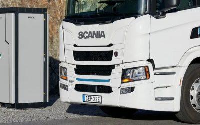 Gran interés en el primer Green Bond de Scania que invertirá en vehículos eléctricos