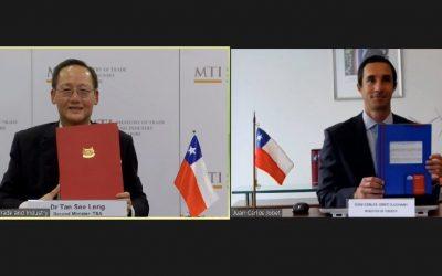 Chile firma acuerdo con Singapur para desarrollar hidrógeno verde