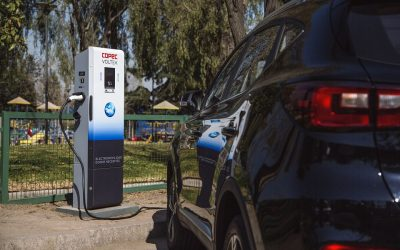 Todas las comunas de la Región Metropolitana se suman a la red de carga pública de vehículos eléctricos de Copec Voltex