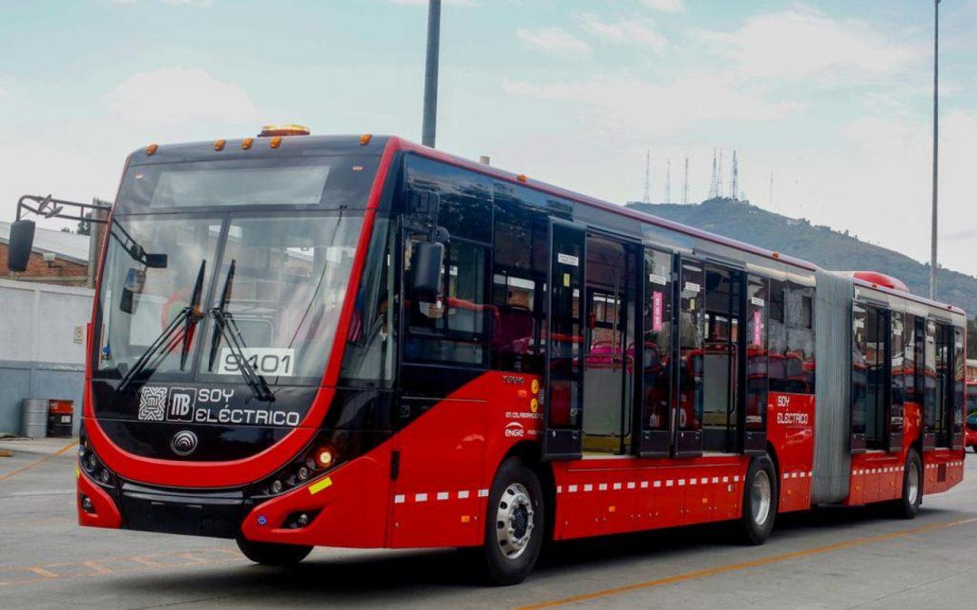 Metrobus electrico de mexico