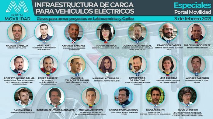 Es hoy! Empresas líderes debatirán sobre infraestructura de carga en Latinoamérica y Caribe