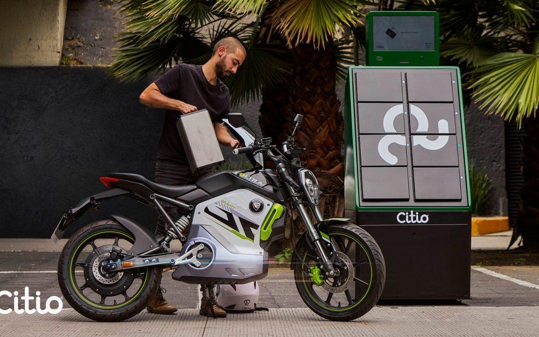 Tras alianza con Italika, Citio alcanzará las 50 estaciones de intercambio de baterías para motos eléctricas en Ciudad de México
