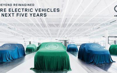 Con seis modelos de lujo Jaguar Land Rover será una marca 100% eléctrica en 2025