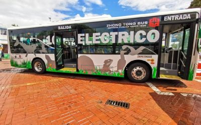 Galápagos cuenta con el primer bus 100% eléctrico