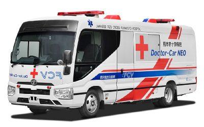 Toyota hace experiencia con la primera clínica móvil de pila de combustible del mundo