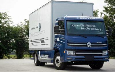 VW da el último paso para fabricar camiones eléctricos en Brasil antes de julio