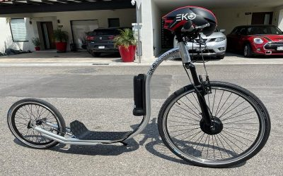 Ni bicicletas ni scooters: Eko lanza su propia línea de trike bikes y foot bikes