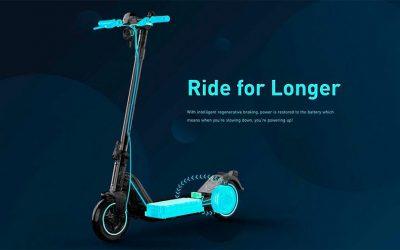 El fabricante chino NIU lanza su primer modelo de kick-scooter al mercado