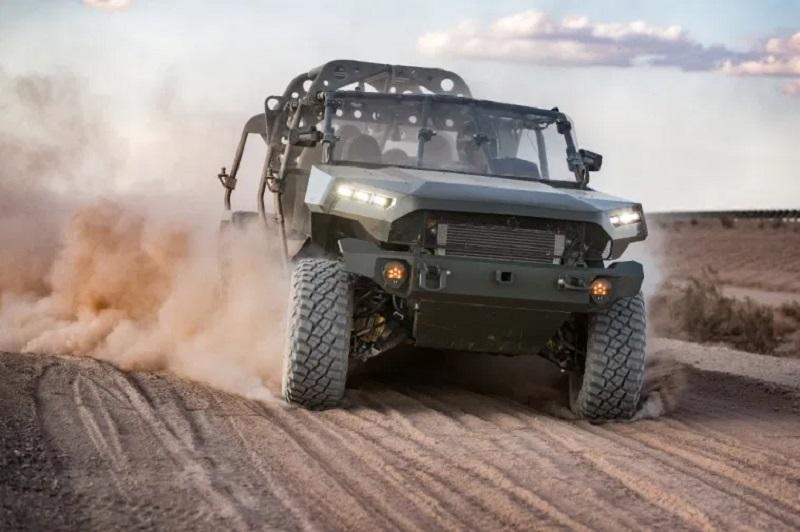 GM gana de mano con un prototipo eléctrico diseñado para flotas militares de Estados Unidos