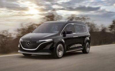 2×1: El último auto eléctrico de Mercedes-Benz se venderá con su propio monopatín