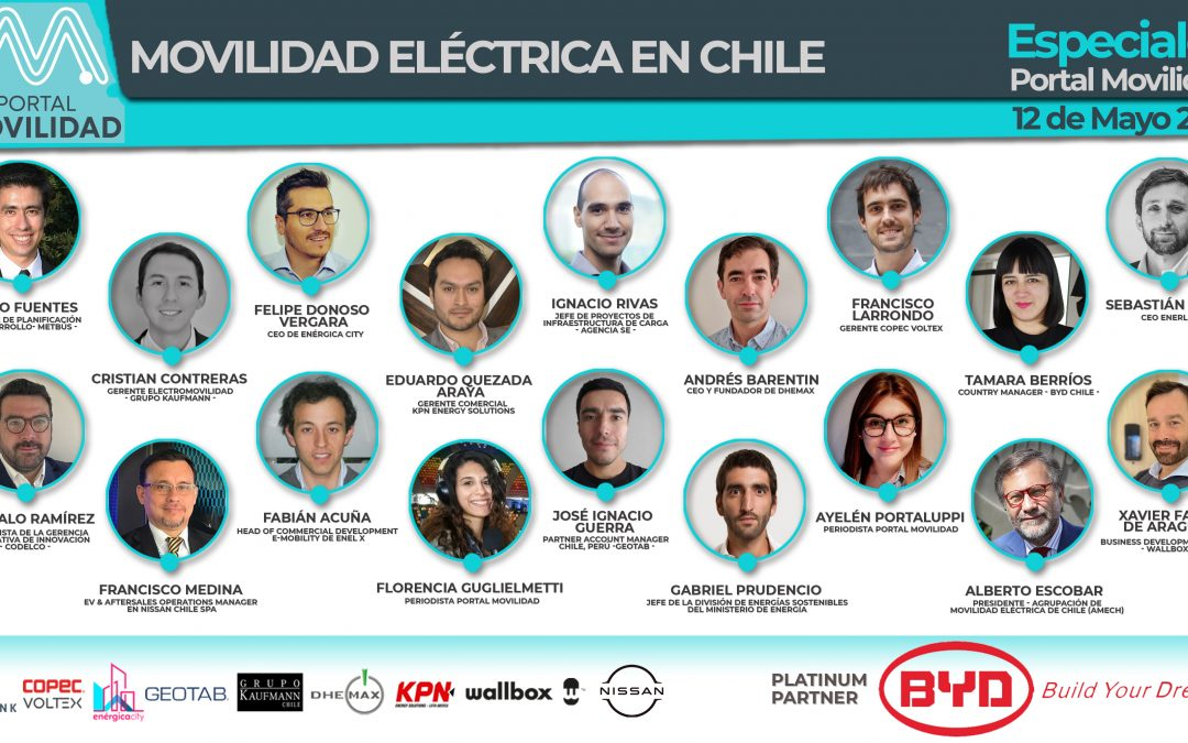 Revive la reunión cumbre con los líderes de la movilidad eléctrica en Chile