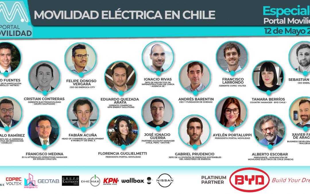 Las frases de los líderes de la electromovilidad en Chile que dejó el especial de Portal Movilidad