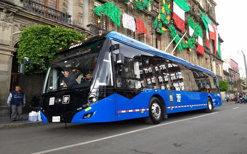 Empresas de buses eléctricos le dicen sí a la exención de aranceles de importación en México