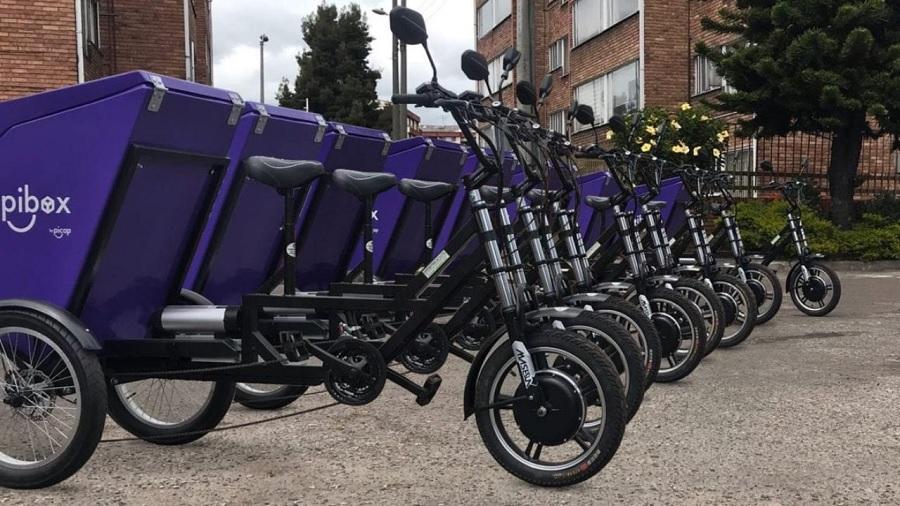 Transporte de pasajeros y última milla será con motos eléctricas de la mano de Picap y Pibox