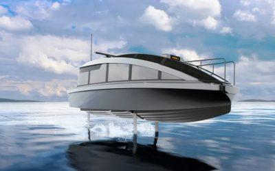 """Así es el """"Candela P-12"""", el barco eléctrico que casi no toca el agua"""