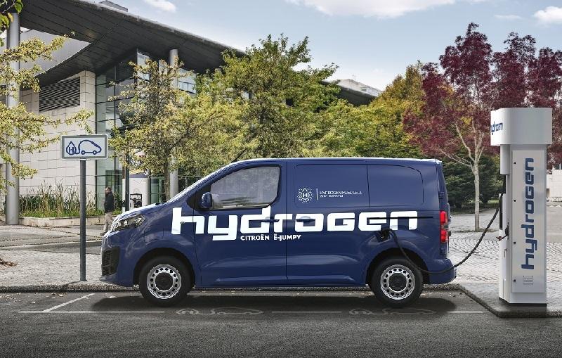 Citroën lanza en Europa su vehículo a hidrógeno para última milla