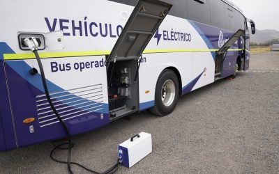 Chile marca otro récord en ventas de buses eléctricos para media distancia
