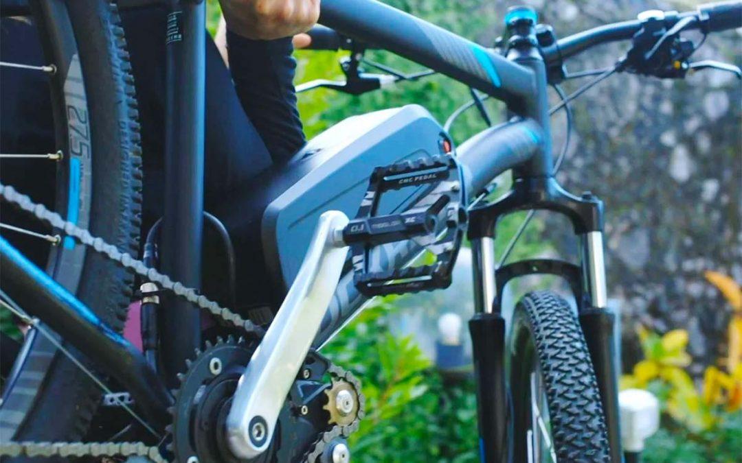 ¿Cómo convertir tu bicicleta a eléctrica en casa en tan solo tres pasos?