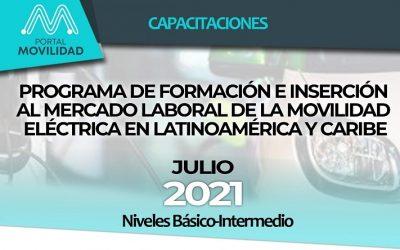 Abierta la inscripción para capacitación en movilidad eléctrica para Latinoamérica y Caribe