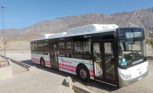 San Juan se prepara para testear buses eléctricos durante un año