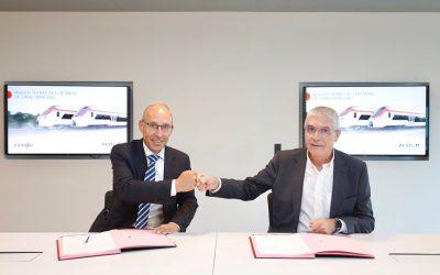 Renfe y Alstom firman contrato para la compra de 152 trenes a fabricarse en Barcelona