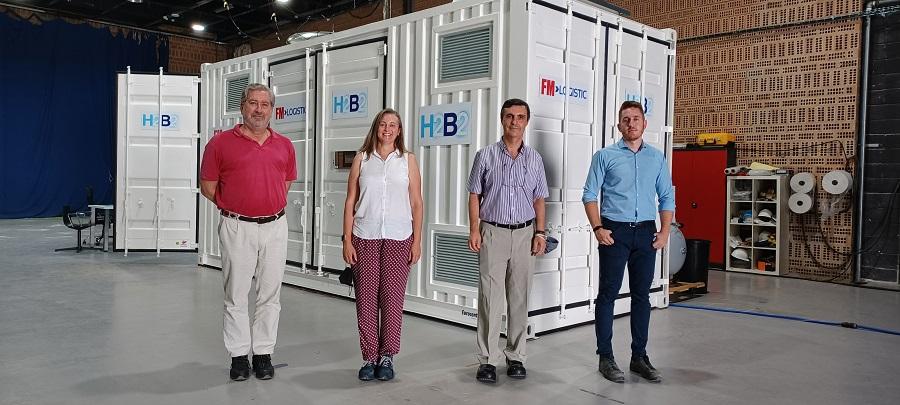 Un éxito: H2B2 y FM Logistic completan pruebas de la primera estación de servicio de hidrógeno en España