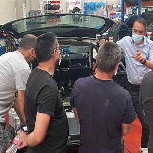 Movelco y Recambios Vallecas capacitan sobre movilidad eléctrica a los talleres madrileños