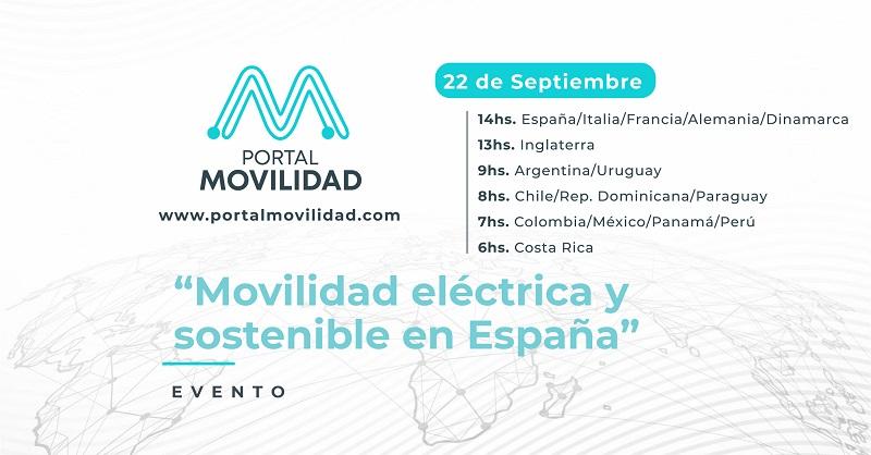 Link al evento! Comienza el Summit Virtual con líderes de la movilidad eléctrica en España organizado por Portal Movilidad