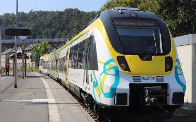 Prueban con éxito el tren eléctrico a batería que Alstom pondrá en servicio hacia fin de año