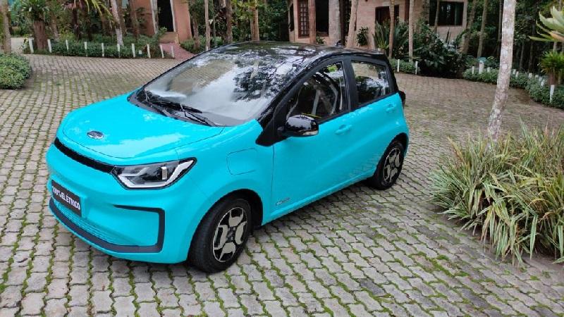 Presentan el JAC E-JS1, el vehículo eléctrico más económico de Brasil