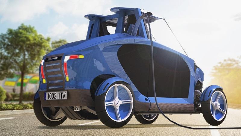 Alianza entre fabricante y productor de tecnología presenta coche a hidrógeno de origen español