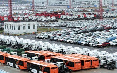 El 60% de las exportaciones de automóviles en Shanghái son eléctricos