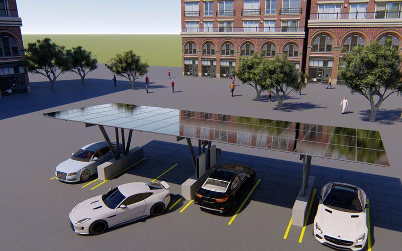 Tendencia: avanzan los parkings para vehículos eléctricos con energía solar en España