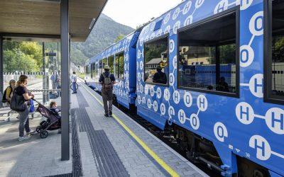 Alstom y Plastic Omnium diseñarán soluciones de almacenamiento de hidrógeno para el ferrocarril