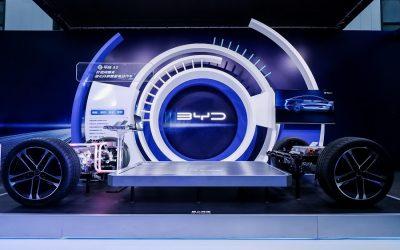 BYD lanza su Plataforma-e 3.0 y su nueva generación de vehículos eléctricos