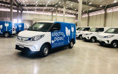 Pipau tendrá 200 vehículos eléctricos de última milla en operación hacia 2022