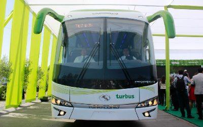 ¿Cómo funciona el modelo de negocio de buses eléctricos interurbanos en Chile?